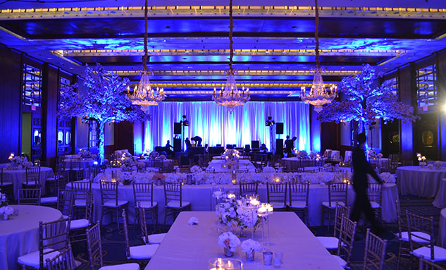 vancouver event lighting effects